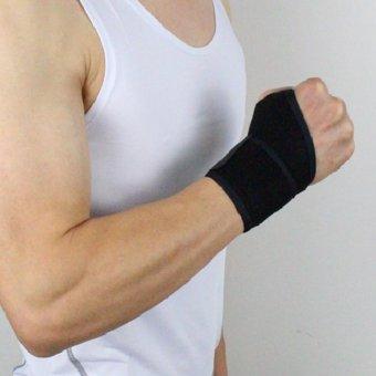 Unisex Acc Wrist Guard Band Brace Support Carpal Pain Wraps Band - intl - 3