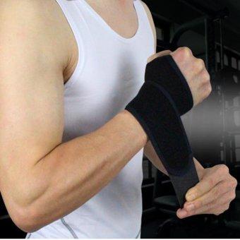 Unisex Acc Wrist Guard Band Brace Support Carpal Pain Wraps Band - intl - 2