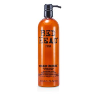 Harga Tigi Bed Head Colour Goddess Oil Infused Conditioner (For Coloured Hair) 750ml/25.36oz
