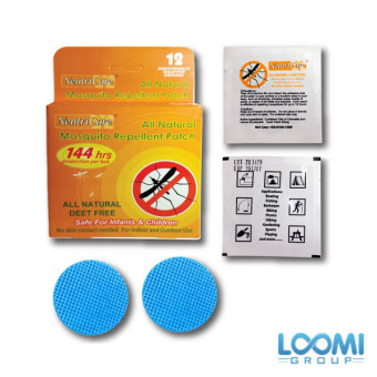 NeutriCare All Natural Mosquito Repellent Patch 12's/box (Triple Pack) - 2