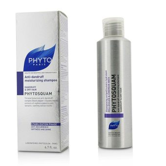 Phytosquam Anti-Dandruff Moisturizing Shampoo (Dandruff & Dry Hair) 200ml/6.7oz (Intl) - Intl