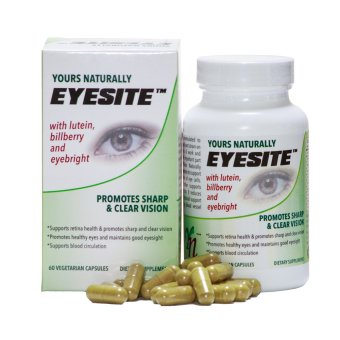 Harga Yours Naturally Eyesite with Lutein, Bilberry Extract and Eyebright. Promotes Sharp and Clear vision.