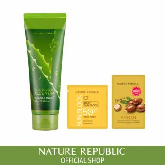 Harga Nature Republic Real Squeeze Aloe Vera Sleeping Pack