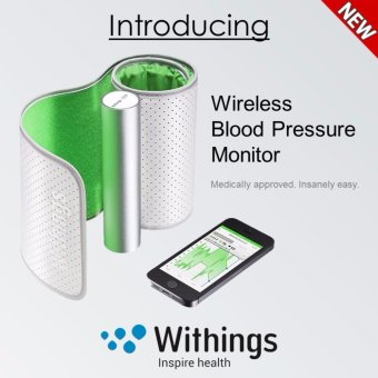 Harga Withings Wireless Blood Pressure Monitor for Apple and Android - intl