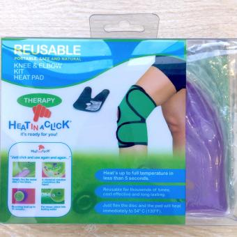 Heat In A Click Knee & Elbow Kit Hot/Cold Gel Pad