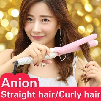 Harga NewView Ceramic Anion Hair Curler Comb Curling Straighting Straightener Roller Iron Fashion Styling Tools 31MM - intl
