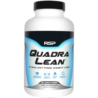 Harga RSP Nutrition QuadraLean 150 Capsules With Free Gift