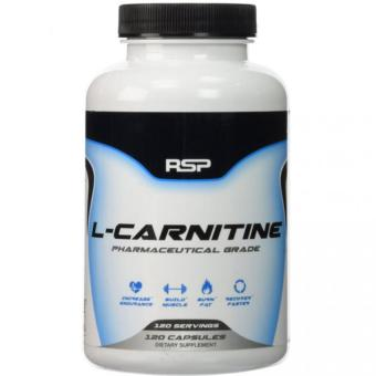 Harga RSP Nutrition L-Carnitine 120 Capsules With Free Gift