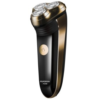 Flyco FS360 Floating Revolving and Double-track Cutter Shaver (Gold) - 2