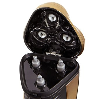 Flyco FS360 Floating Revolving and Double-track Cutter Shaver (Gold) - 3