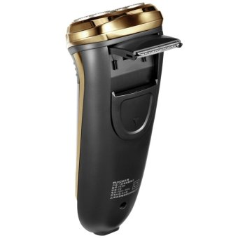 Flyco FS360 Floating Revolving and Double-track Cutter Shaver (Gold) - 4