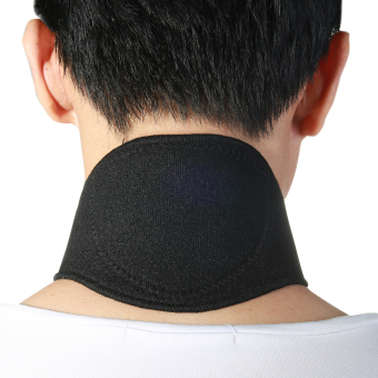 Harga Andux Neck magnetic Neck neck protection from the heat far infrared thermal neck guard RHJ-01 black