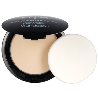 Harga NYX Stay Matte But Not Flat Powder Foundation NYX SMP01 Ivory