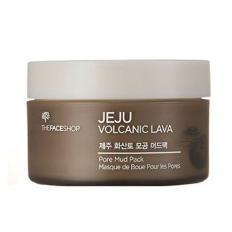 Harga The face shop Jeju Volcanic Lava Pore Mud Pack 100g(Export)