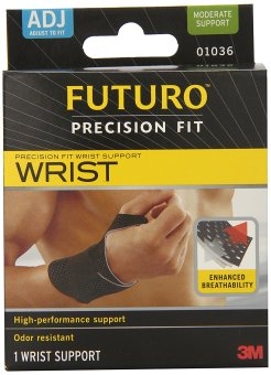 Harga NEW STOCK! Futuro Precision Fit Wrist Support, Adjustable