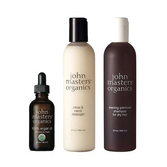 Harga John Masters Organics Haircare Set Argan Oil+ Hair Shampoo + Conditioner #b213 (EXPORT)