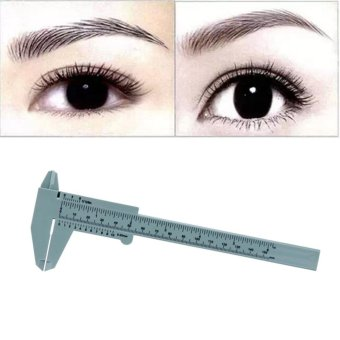 Harga 1PC Microblading Reusable Makeup Measure Eyebrow Guide Ruler Permanent Tools - intl