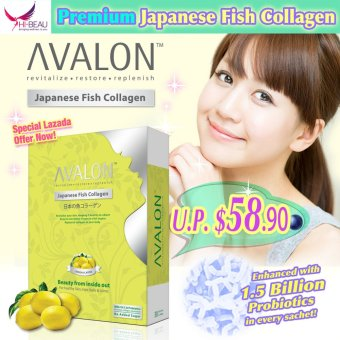 Harga AVALON Japanese Fish Collagen (Lemon)