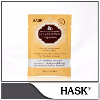Harga Hask Coconut Milk & Organic Honey Curl Care Deep Conditioner 50g