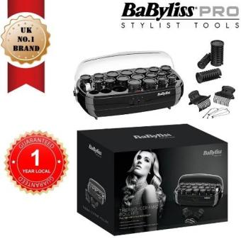 Harga BABYLISS 3045U Heated Thermo-Ceramic Hair Rollers with Variable Temperature Control[1 YEAR LOCAL GUARANTEE]