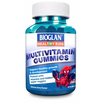 Harga Bioglan Kids Gummies Boys Multivitamins 60 Gummies