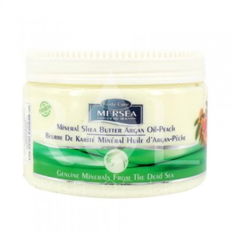 Harga Mineral Shea Argan Oil-Peach Body Butter