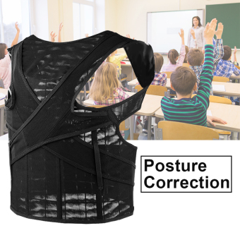 Harga Fully Adjustable Back Brace For Posture Correction And Back Pain Support HS455