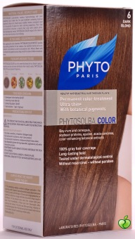 Harga Phytocolor 6 Dark Blonde - Treatment Ultra Shine with Botanical Pigments