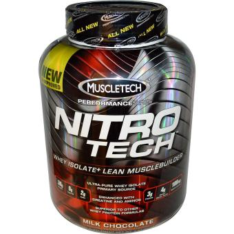 Harga MuscleTech NitroTech 4lbs Milk Chocolate