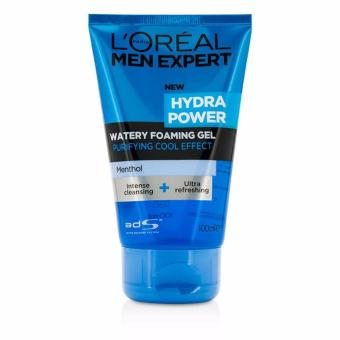 Harga L'Oreal Paris Men Expert Hydrapower Foaming Gel 100ml