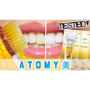 Harga Atomy Propolis Toothpaste 200g x 5 Tubes / For Sensitive Gums / Anti-plaque Tartar Deposition