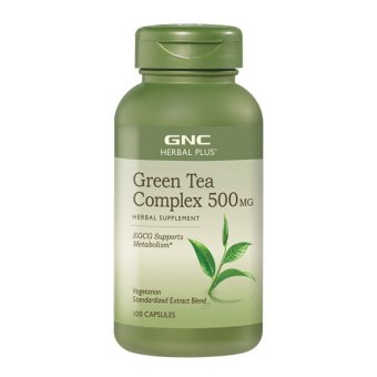 Harga GNC Herbal Plus® Standardized Green Tea Complex (100 vegicaps)