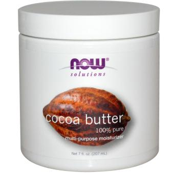 Harga Now Foods, Solutions, Cocoa Butter 207ml
