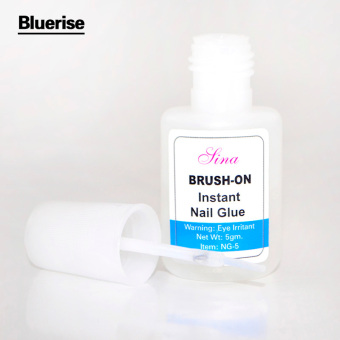 Harga WXS 5g Instant Nail Glue Glitter Acrylic Rhinestones Decoration With Nail Art UV Gel Nail Tips Glue Fast Drying Manicure Nail Glue for False Nails - intl