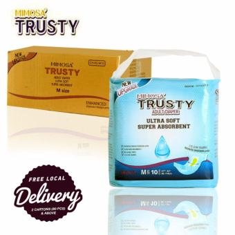 Harga TRUSTY ADULT DIAPERS -M