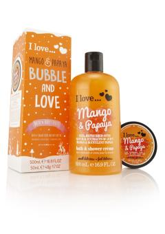 Harga I Love Bubble And Love Mango And Papaya