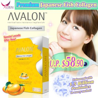 Harga AVALON Japanese Fish Collagen (Mango)