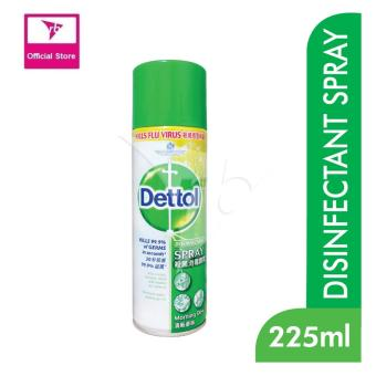 Harga Dettol Disinfectant Spray Morning Dew 225Ml