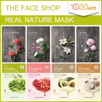 Harga 8 Sheets The Face Shop Real Nature Mask