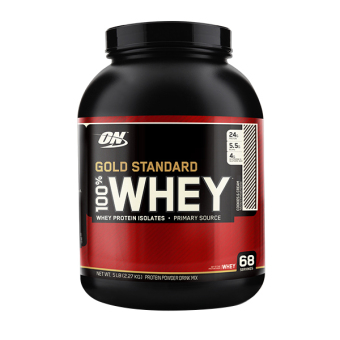 Harga Optimum Nutrition Gold Standard 100% Whey 5 lbs Cookies and Cream