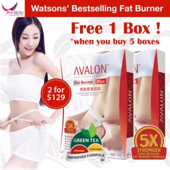 Harga AVALON Fat Burner Plus Twin Pack 60 Capsules