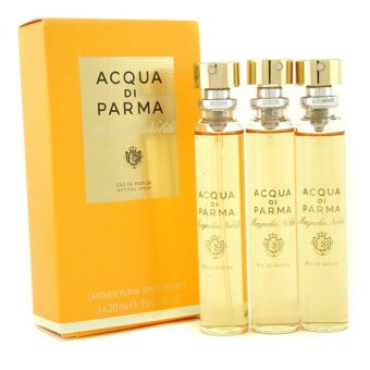 Harga Acqua Di Parma Magnolia Nobile Leather Purse Spray Refills Eau De Parfum 3x20ml