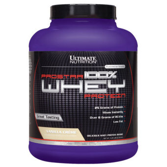 Harga Ultimate Nutrition Prostar 100% Whey Protein Cookies and Cream 2 Lbs With Free Gift