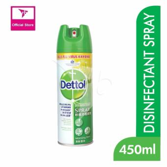 Harga Dettol Disinfectant Spray Morning Dew 450Ml