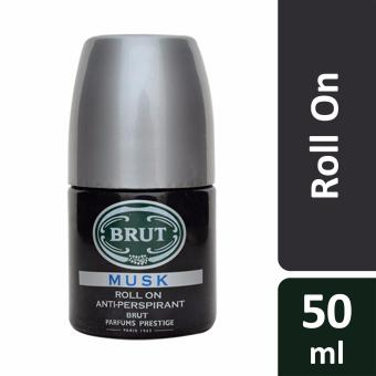 Harga BRUT Roll On Anti-Perspirant Deodorant Musk 50ml