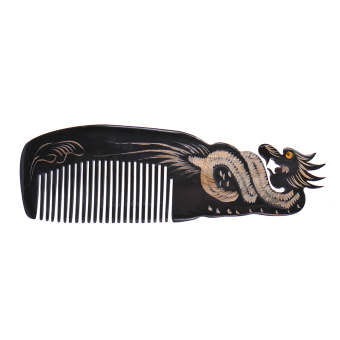 Art Delicate Upscale Natural 100% Massage Comb,HEALTHY Hair Loss Comb ,Natural OX Horn Comb