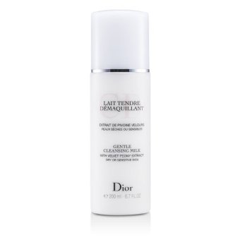 Harga Christian Dior Gentle Cleansing Milk (For Dry/ Sensitive Skin) 200ml/6.7oz