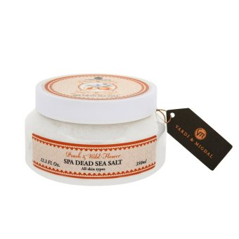 Harga Vardi & Migdal Spa Dead Sea Salt - Peach & Wild Flower