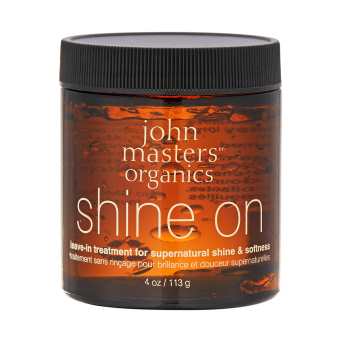 Harga John Masters Organics Shine On Leave-in Hair Treatment For Supernatural Shine & Softness 4oz, 113g (Intl) - Intl