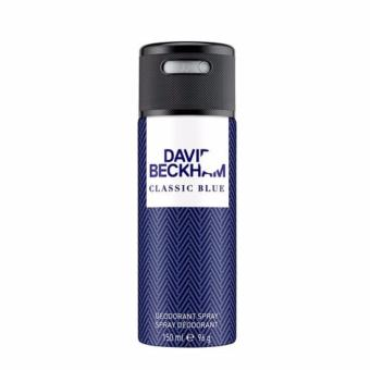 Harga DAVID BECKHAM CLASSIC BLUE DEO SPRAY 150ML